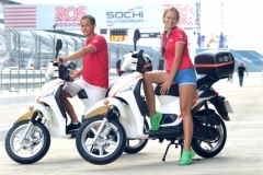 Scooter sharing Tour-de-jour.ru